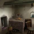 中世の家・台所