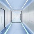 近未来・廊下
